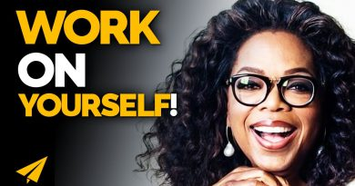 Your REAL WORK is to WORK on YOURSELF! | Oprah Winfrey | #Entspresso