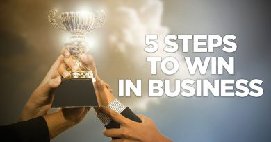 5 Steps to Win in Business - Young Hustlers
