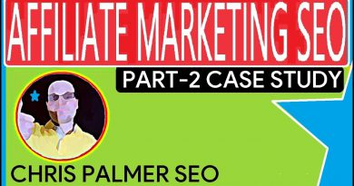 Affiliate SEO Marketing Website 2020  (Case Study)