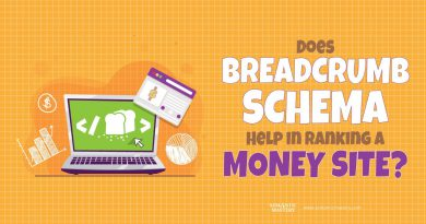Does Breadcrumb Schema Help In Ranking A Money Site?