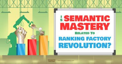 Is Semantic Mastery Related To Ranking Factory Revolutions?