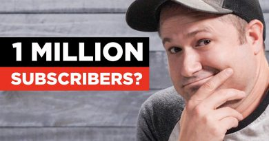 Jon's Tips for Growing to 1 Million Subscribers