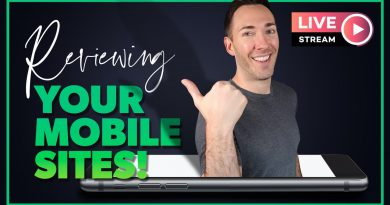 LIVE: Reviewing YOUR Websites on Mobile!