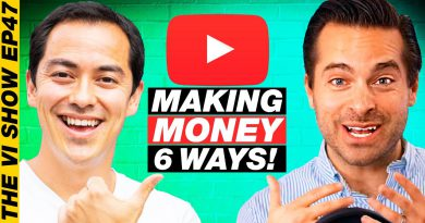 6 Ways To Make Money in 6 Months with a New YouTube Channel - Justin Moore #ViShow 47