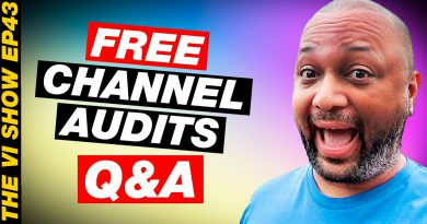 Channel Audit and Tips for Making Your Videos Better with Travis MCP!