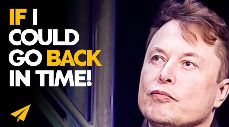 Here's What I Would Tell My 20-Year-Old Self!   Elon Musk   #Entspresso