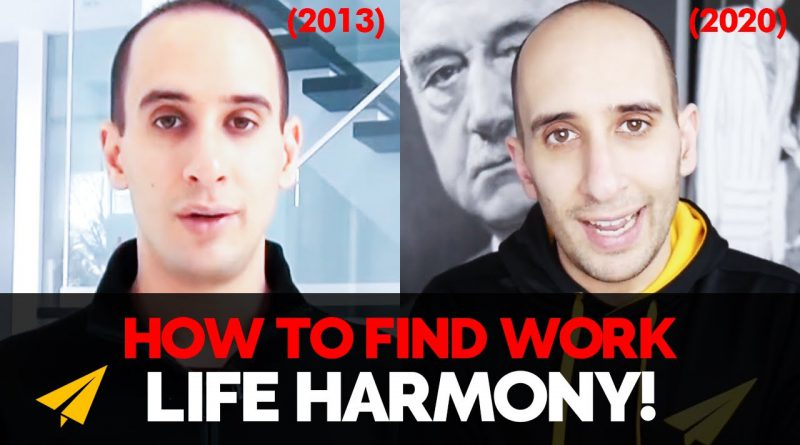 How to BALANCE Your PERSONAL LIFE With Your WORK! | 2013 vs 2020 | #EvanVsEvan
