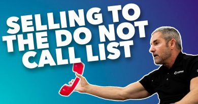 Selling to the Do Not Call List - Grant Cardone