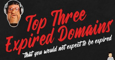 Top Three Expired Domain Names, That You Wouldn't Expect To have dropped