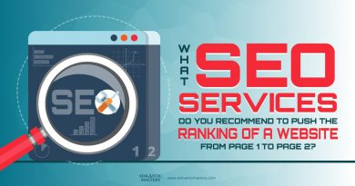 What SEO Service Do You Recommend To Push The Ranking Of A Website From Page 1 To Page 2?