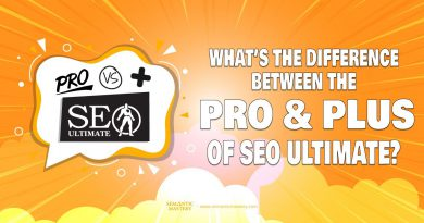 What's The Difference Between The Pro And Plus Version Of SEO Ultimate?