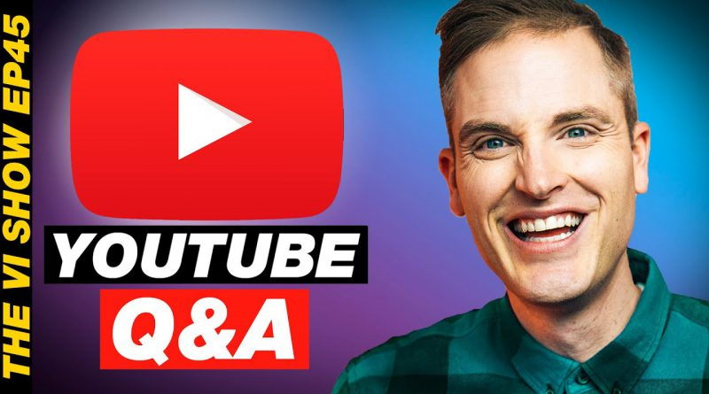 YouTube Tips Q&A with Sean Cannell and Benji Travis