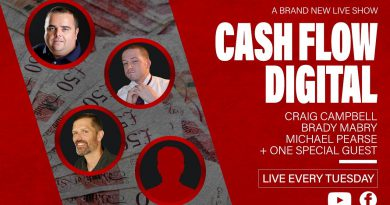 Cashflow Digital Live today
