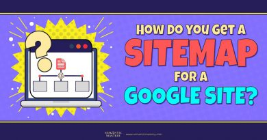 How Do You Get A Sitemap For A Google Site?