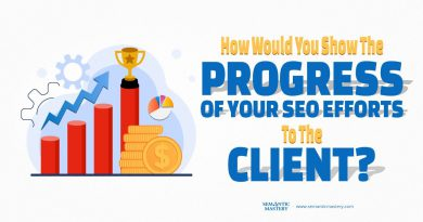 How Would You Show The Progress Of Your SEO Efforts To The Client?