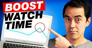 How to Get More WATCH TIME! 3 Easy Tips