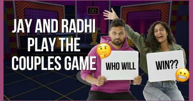 Jay Shetty & His Wife Radhi PLAY HOW WELL Do You Know Your PARTNER? | Relationship Game