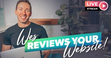 LIVE: Ask Wes Anything About Your Website, Digital Marketing, You-Name-It!