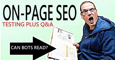 On Page SEO 2021 - SEO Experiment