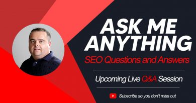 SEO Training, Live Q&A with Craig Campbell SEO