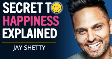 The SECRET To Living A HAPPY LIFE Is This... | Jay Shetty