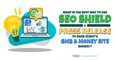 What Is The Best Way To Use SEO Shield And Press Release To Rank Client's GMB And Money Site Quickly