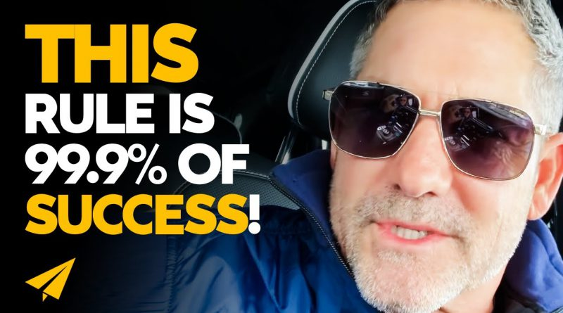 99.9% of SUCCESS is Based on THIS Very SIMPLE Rule! | Grant Cardone | #Entspresso