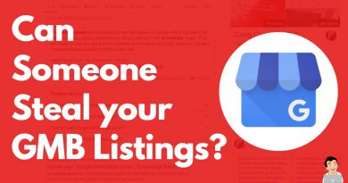 Can Someone Steal your GMB Listings? Claim Ownership of your Google My Business