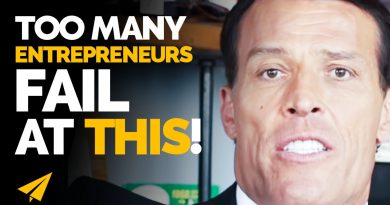 From $120 MILLION in DEBT to Making BILLIONS!   Tony Robbins   #Entspresso