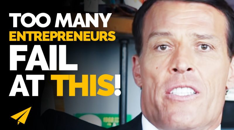From $120 MILLION in DEBT to Making BILLIONS! | Tony Robbins | #Entspresso