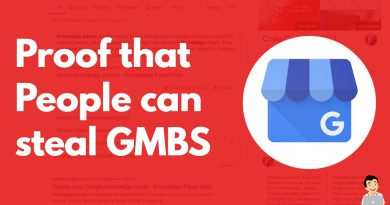 Proof that People can steal GMB's, Evidence someone can take a Google My Business Account in seconds