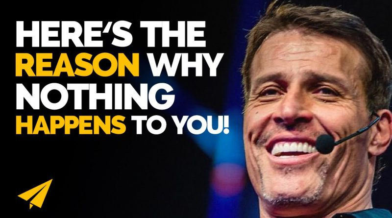 THIS is the ONLY Thing That Can ACTUALLY Change Your LIFE! | Tony Robbins | #Entspresso