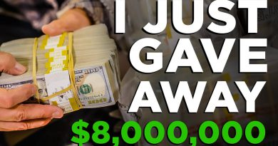 Undercover Billionaire Gives Away $8,000,000 - Grant Cardone