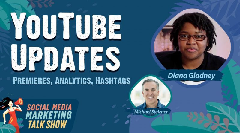 YouTube Premieres Changes, New Analytics, Hashtag Search Results, and More
