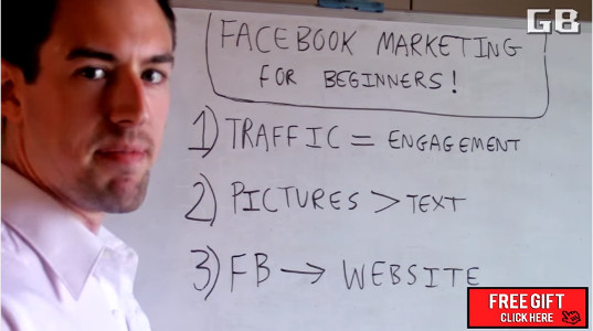 Facebook Marketing For Beginners Three Easy Steps