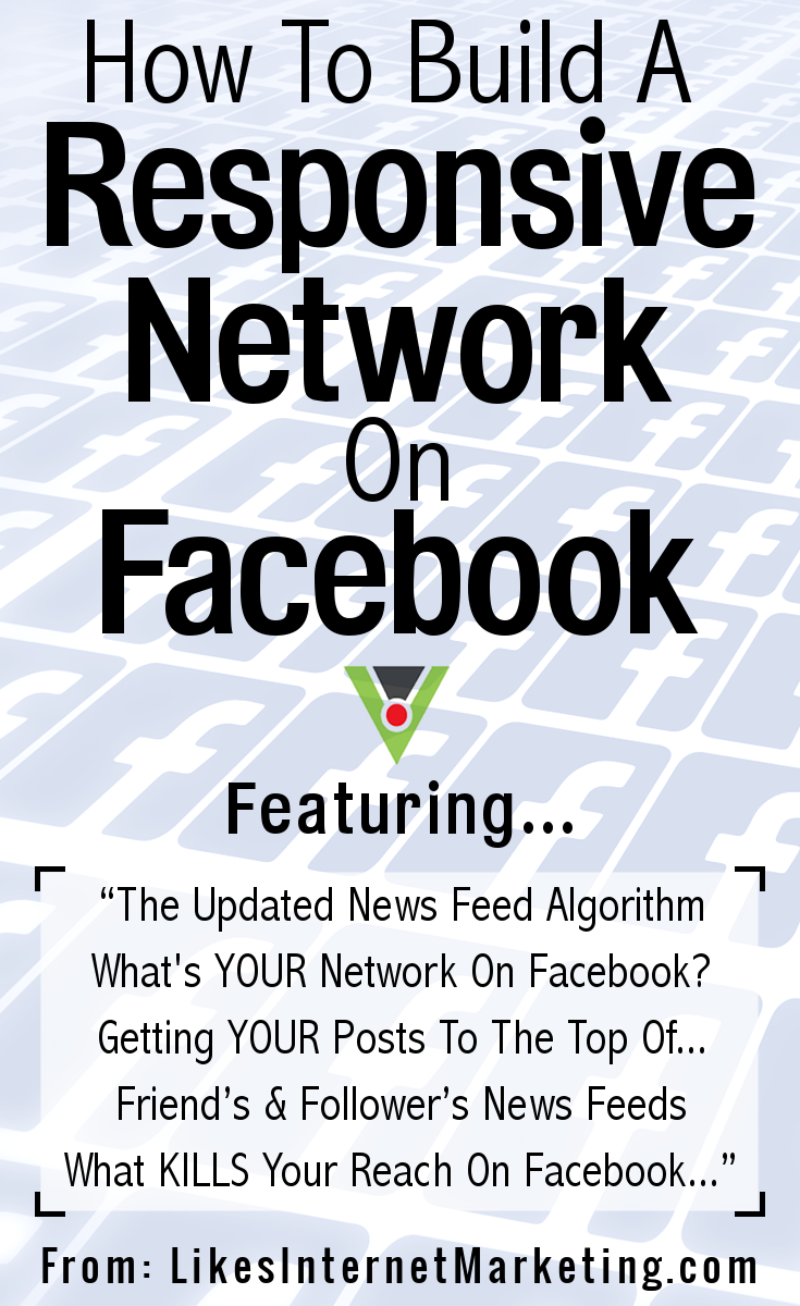 How To Build A Responsive Network On Facebook