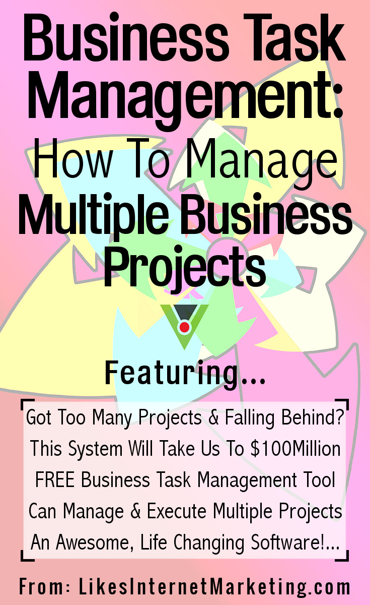 Business Task Management How To Manage Multiple Business Projects