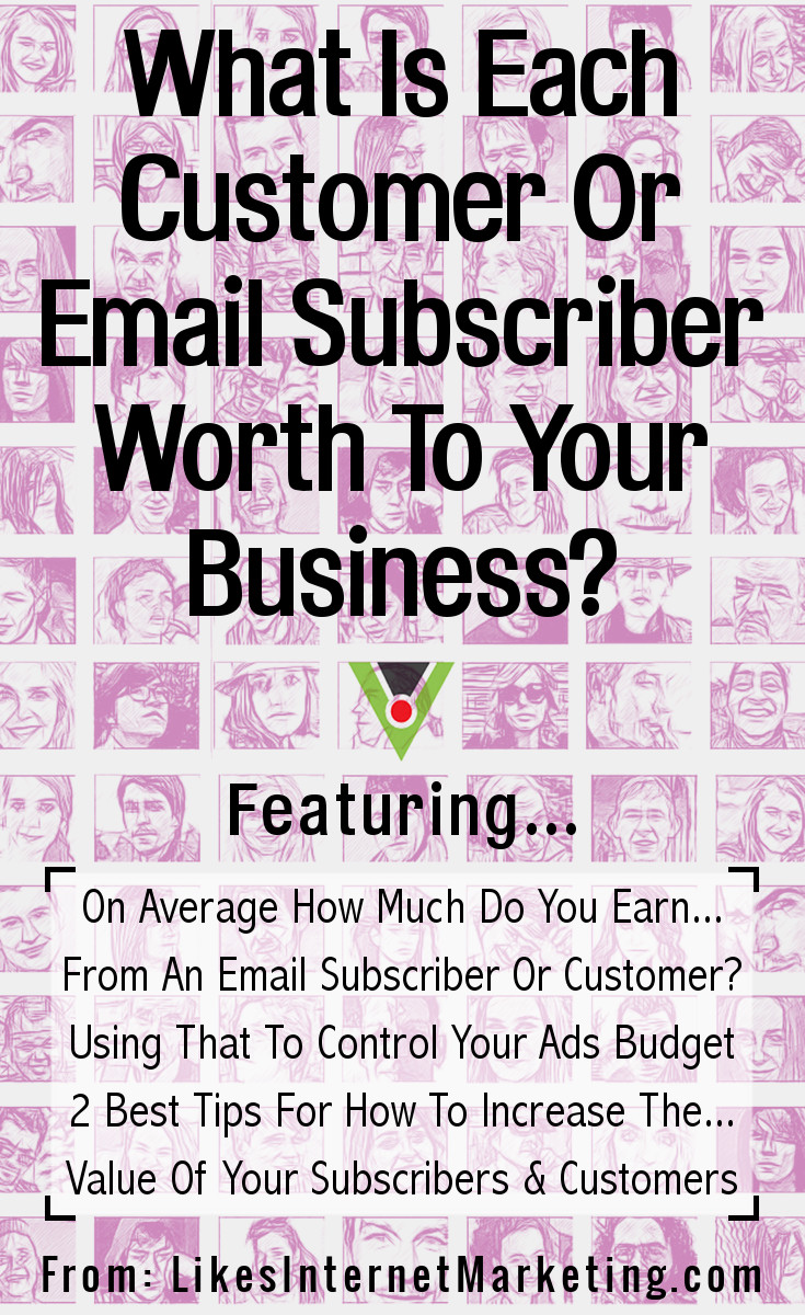 What Is Each Customer or Email Subscriber Worth To Your Business
