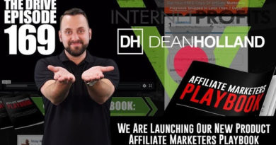 Affiliate Marketers Playbook by Dean Holland