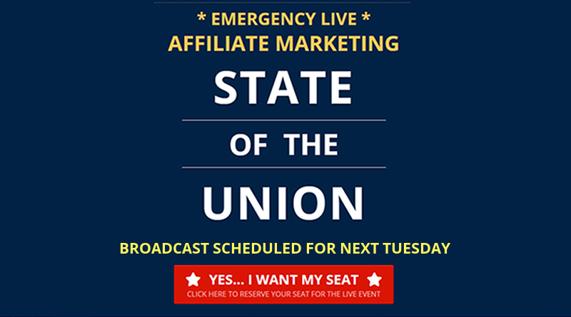 State Of The Union Affiliate Marketing