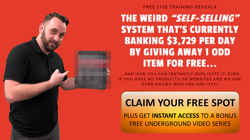 Weird Self-Selling System