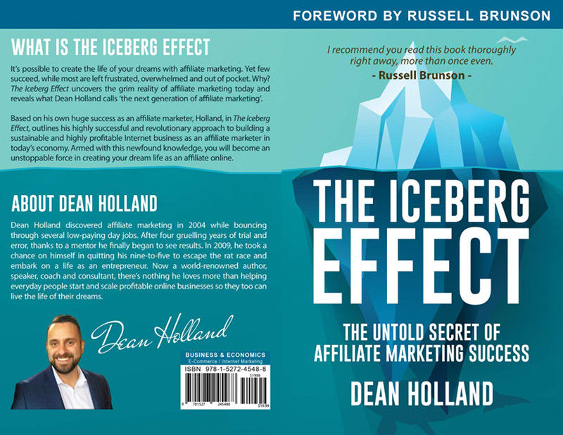 Front And Back Covers Of The Iceberg Effect Book