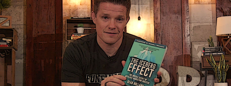 Clickfunnels Co-founder Russell Brunson Endorses The Iceberg Effect Book