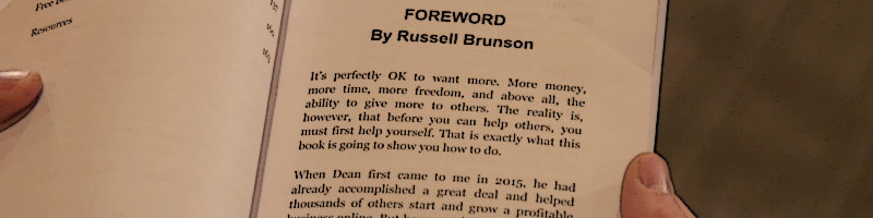 Keep Scrolling Down To Watch Russell Brunson Read The Foreword He Wrote