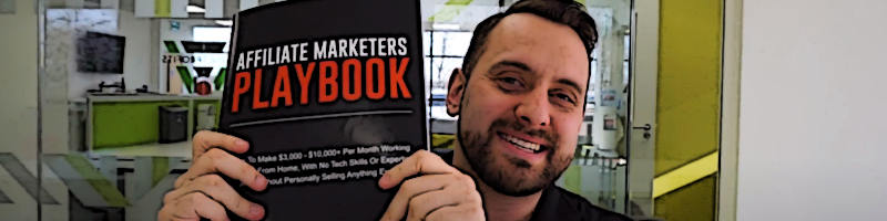 We Launched A Brand New Book Called The Affiliate Marketers Playbook