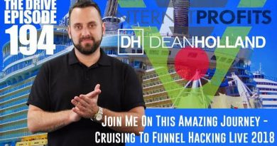 Dean Holland's Amazing Trip To Speak At Funnel Hacking Live In 2018