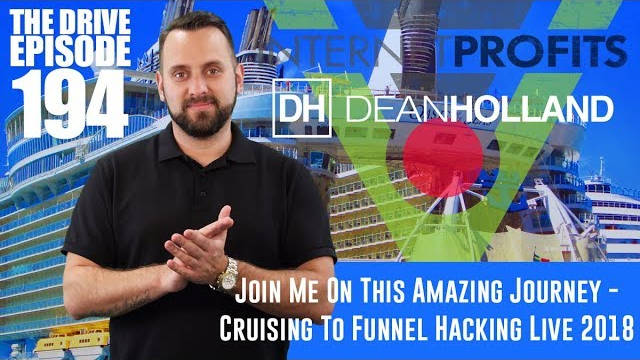 Dean Holland's Eastern Caribbean Cruise To Speak At Funnel Hacking Live