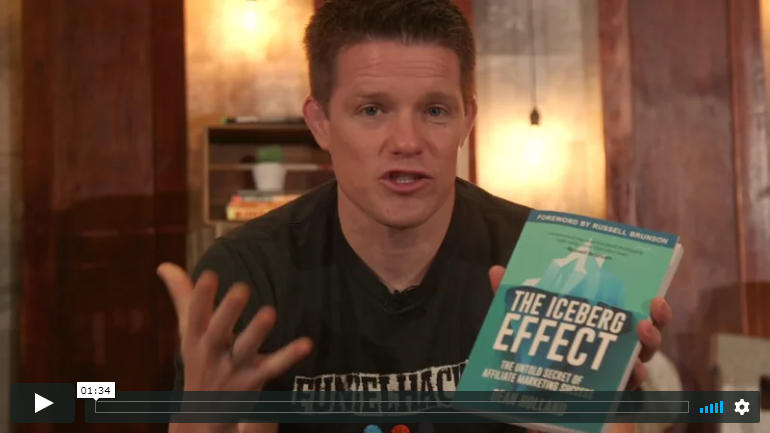 Russell Brunson Endorsing The Iceberg Effect Book