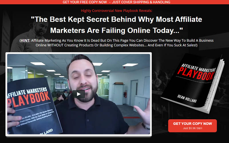 I've Prepared This Free Product For You, The Affiliate Marketer's Playbook