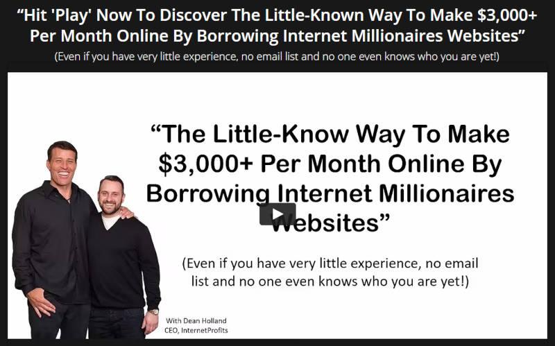 Borrow My Business Webinar With Dean Holland